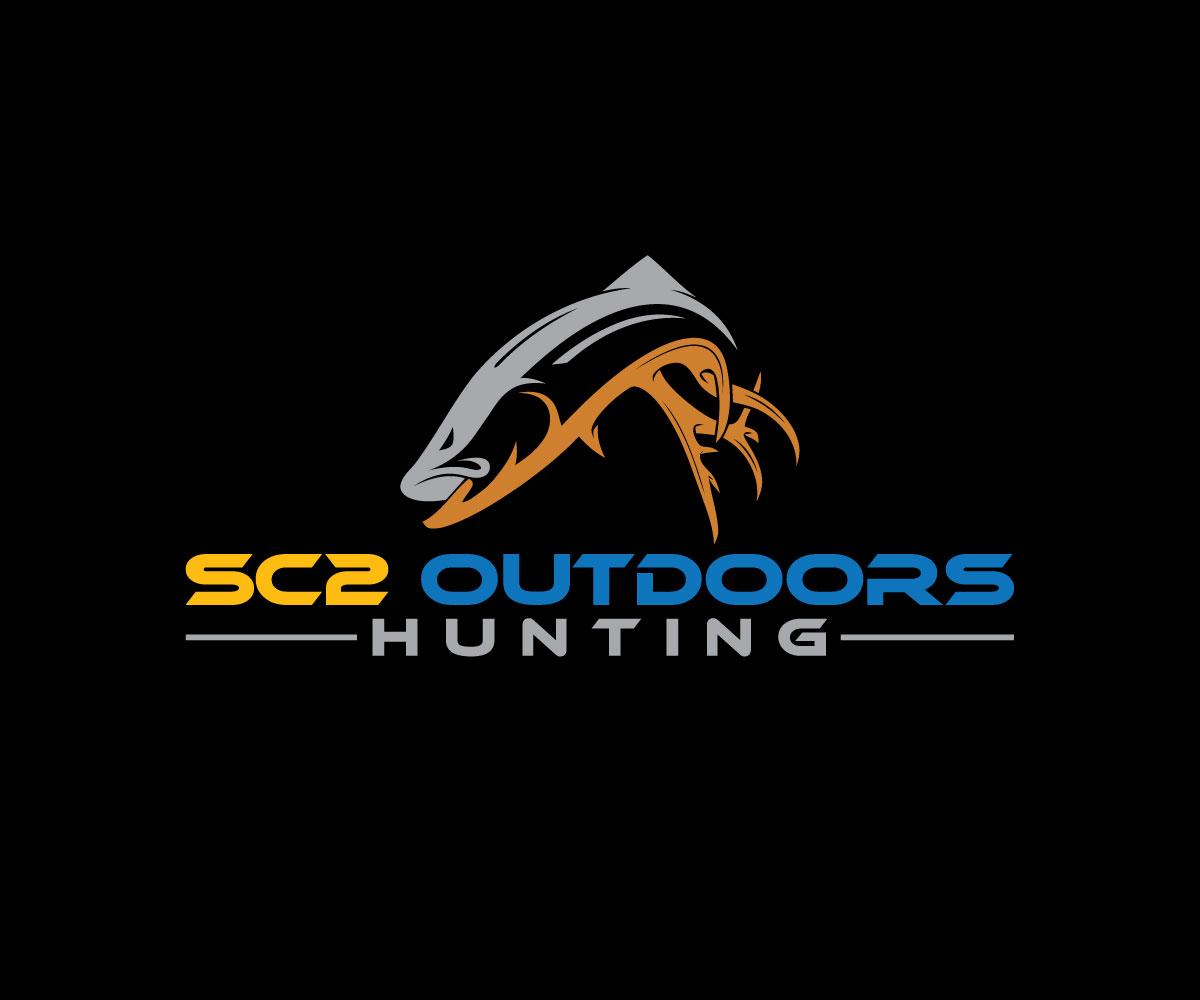 Logo Design by Masum Billah - Entry No. 203 in the Logo Design Contest Imaginative Logo Design for SC2 Outdoors Hunting / Fishing Logo.