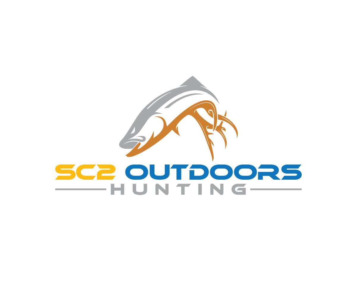 Logo Design by Masum Billah - Entry No. 204 in the Logo Design Contest Imaginative Logo Design for SC2 Outdoors Hunting / Fishing Logo.