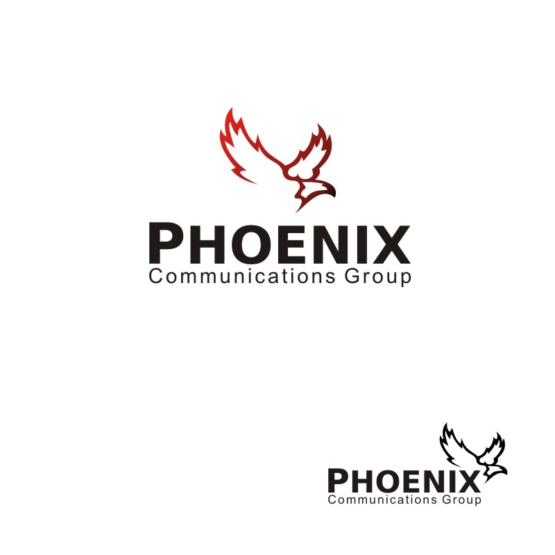 Logo Design by Seven Digitz - Entry No. 36 in the Logo Design Contest Phoenix Communications Group.