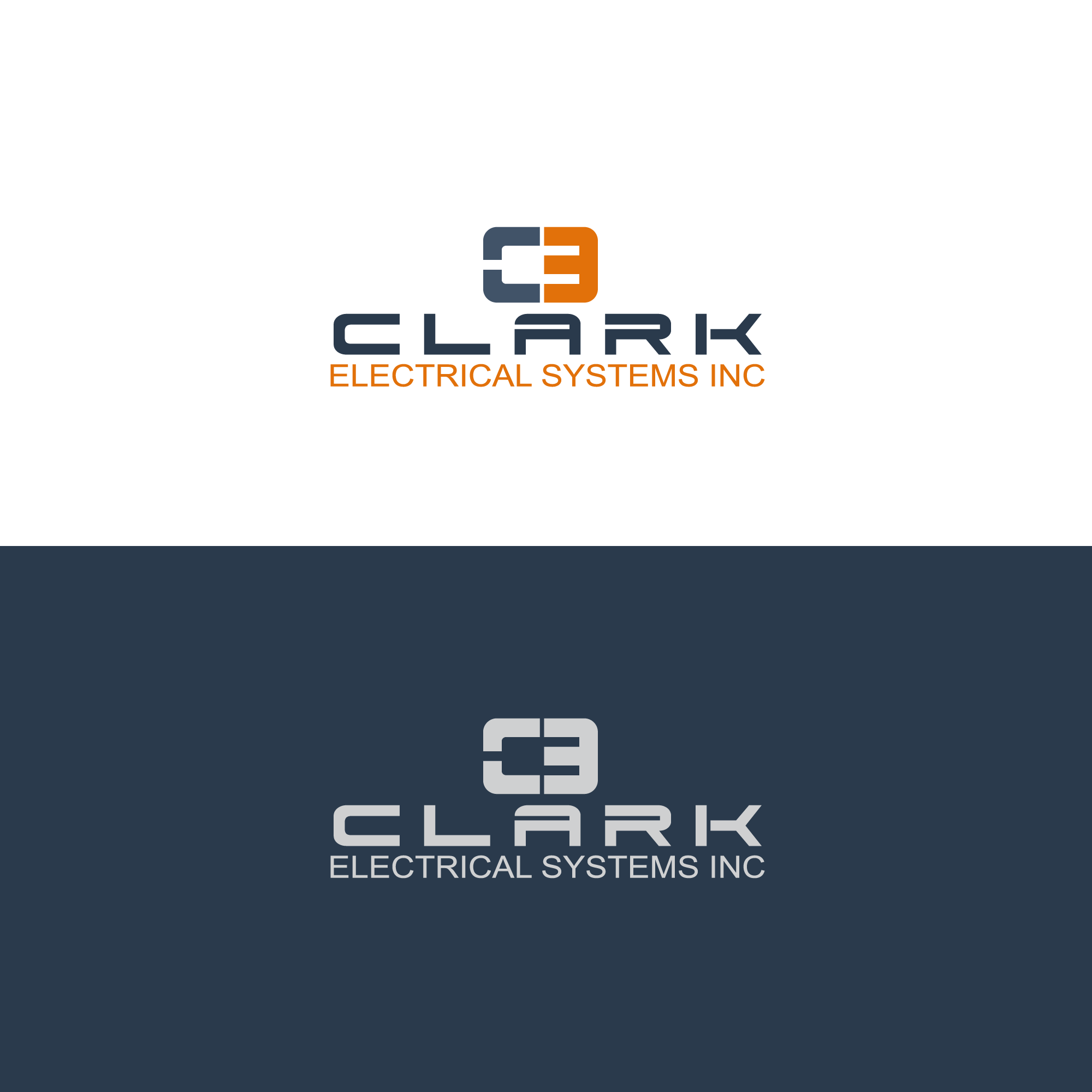 Logo Design by Runz - Entry No. 220 in the Logo Design Contest Artistic Logo Design for Clark Electrical Systems Inc..