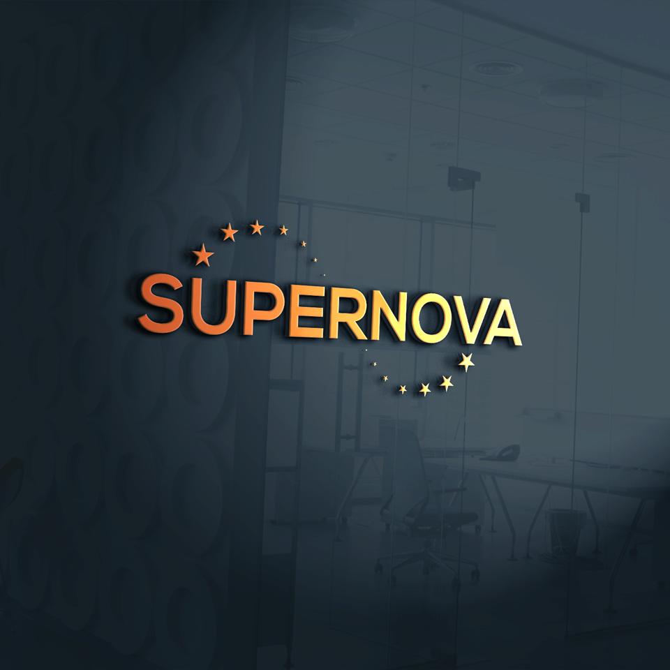 Logo Design by Ruhul Amin - Entry No. 236 in the Logo Design Contest Creative Logo Design for Supernova.