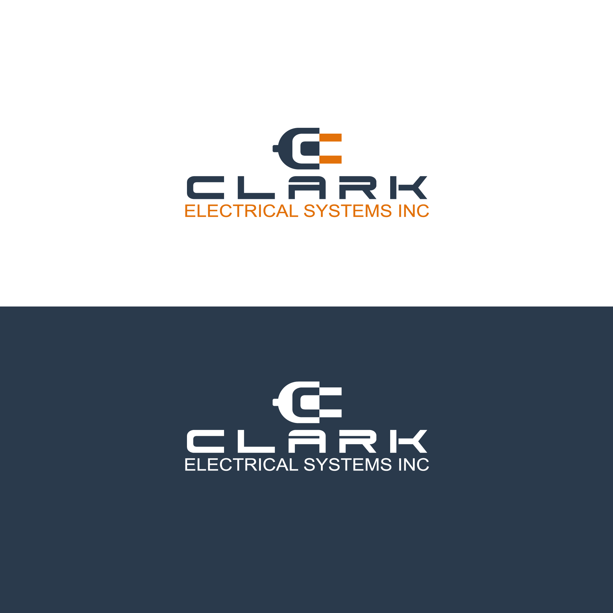 Logo Design by Runz - Entry No. 222 in the Logo Design Contest Artistic Logo Design for Clark Electrical Systems Inc..