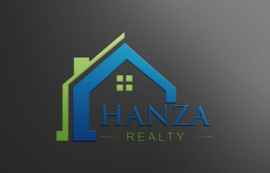 Logo Design by Neon Mirza shakib - Entry No. 23 in the Logo Design Contest Logo Design for Hanza Realty.