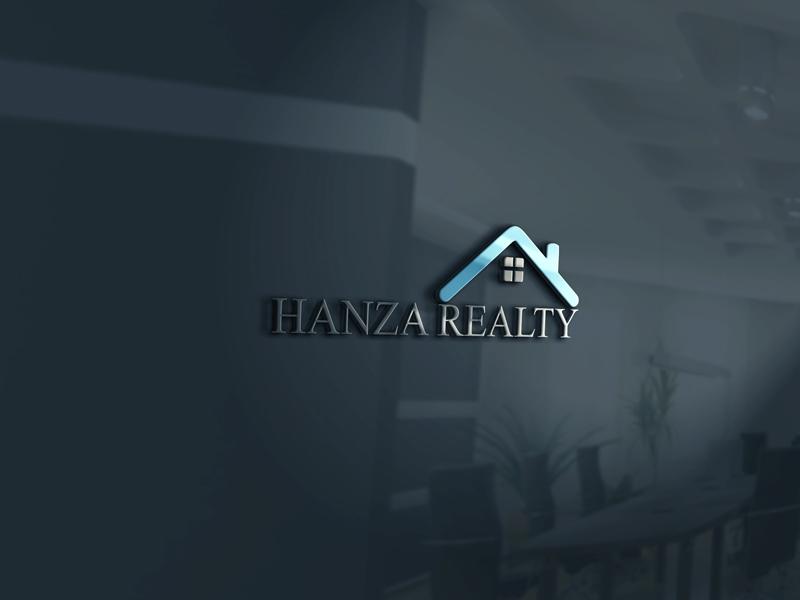 Logo Design by Geas Design - Entry No. 26 in the Logo Design Contest Logo Design for Hanza Realty.