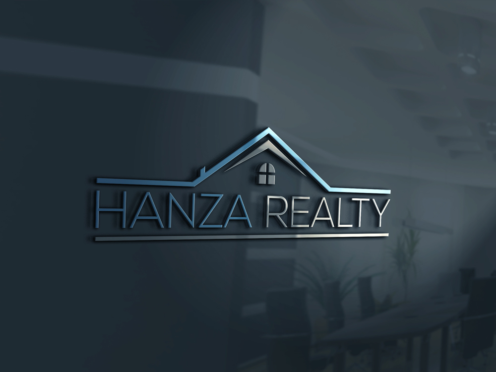 Logo Design by Rased Vai - Entry No. 28 in the Logo Design Contest Logo Design for Hanza Realty.