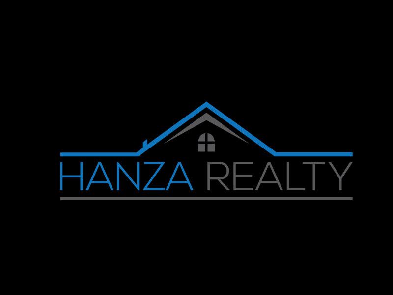 Logo Design by Rased Vai - Entry No. 30 in the Logo Design Contest Logo Design for Hanza Realty.