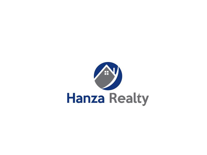 Logo Design by Sohel Sorkar - Entry No. 31 in the Logo Design Contest Logo Design for Hanza Realty.