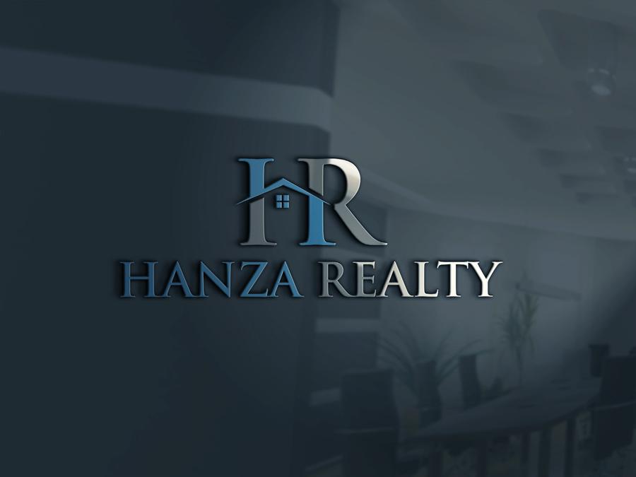Logo Design by Abdur Rahman - Entry No. 41 in the Logo Design Contest Logo Design for Hanza Realty.