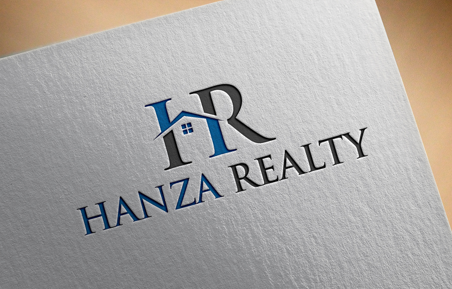 Logo Design by Abdur Rahman - Entry No. 42 in the Logo Design Contest Logo Design for Hanza Realty.