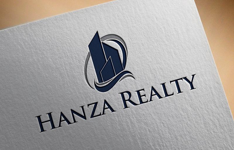Logo Design by Salah Uddin - Entry No. 44 in the Logo Design Contest Logo Design for Hanza Realty.
