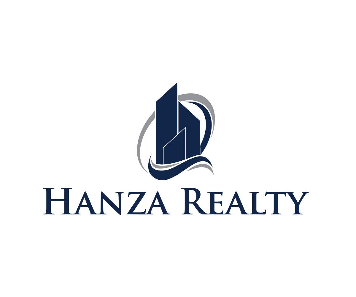 Logo Design by Salah Uddin - Entry No. 46 in the Logo Design Contest Logo Design for Hanza Realty.