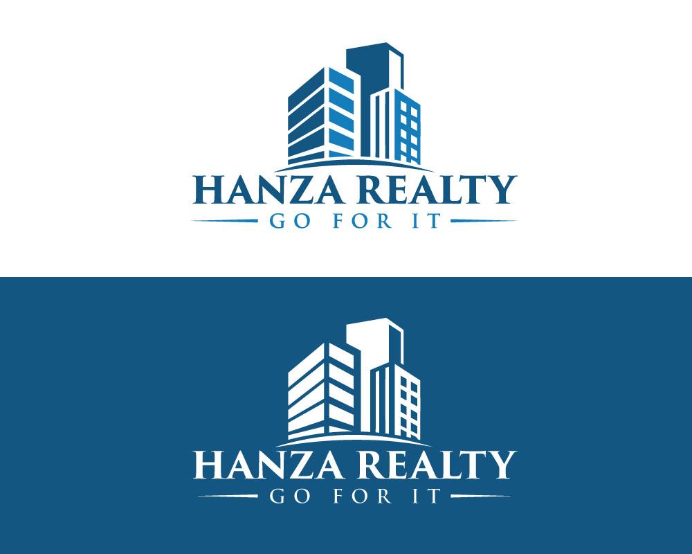 Logo Design by Desing Paglla - Entry No. 53 in the Logo Design Contest Logo Design for Hanza Realty.