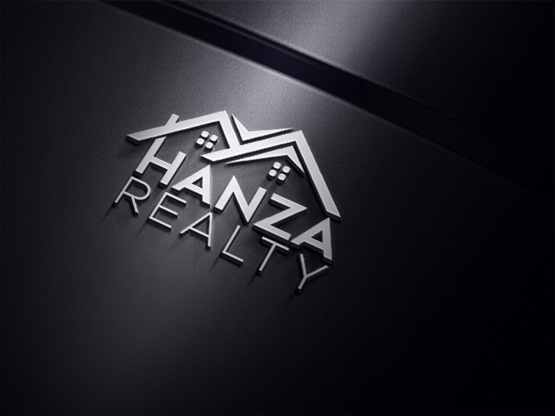 Logo Design by One Touch - Entry No. 59 in the Logo Design Contest Logo Design for Hanza Realty.