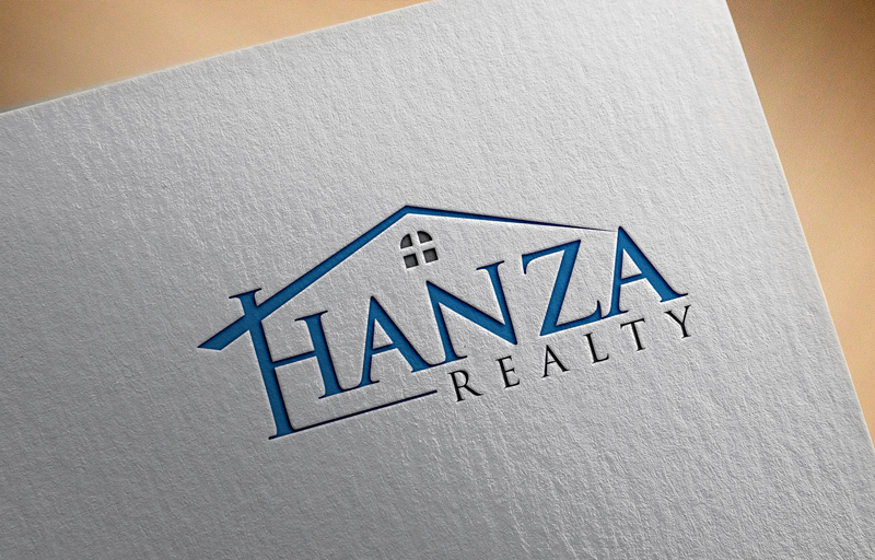 Logo Design by Riday Hassan - Entry No. 62 in the Logo Design Contest Logo Design for Hanza Realty.