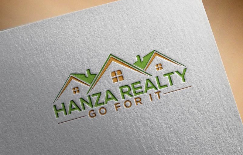 Logo Design by Masum Billah - Entry No. 65 in the Logo Design Contest Logo Design for Hanza Realty.