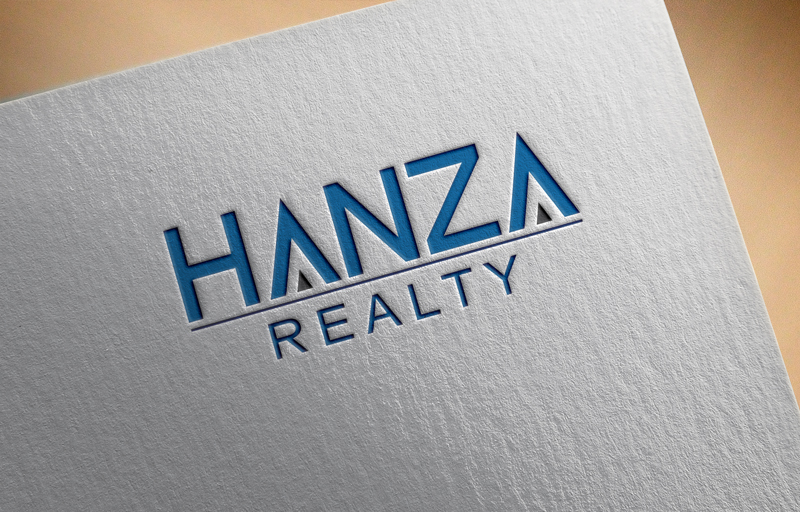Logo Design by Ismail Hossain - Entry No. 67 in the Logo Design Contest Logo Design for Hanza Realty.