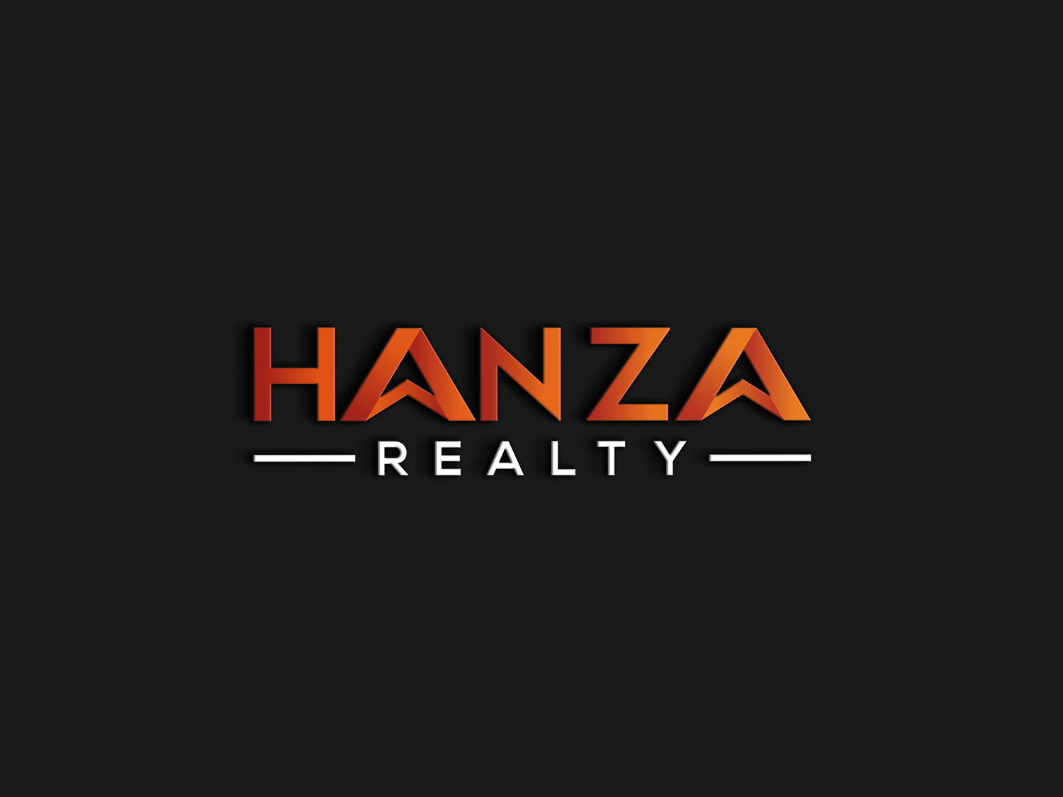Logo Design by Md nayeem Khan - Entry No. 73 in the Logo Design Contest Logo Design for Hanza Realty.