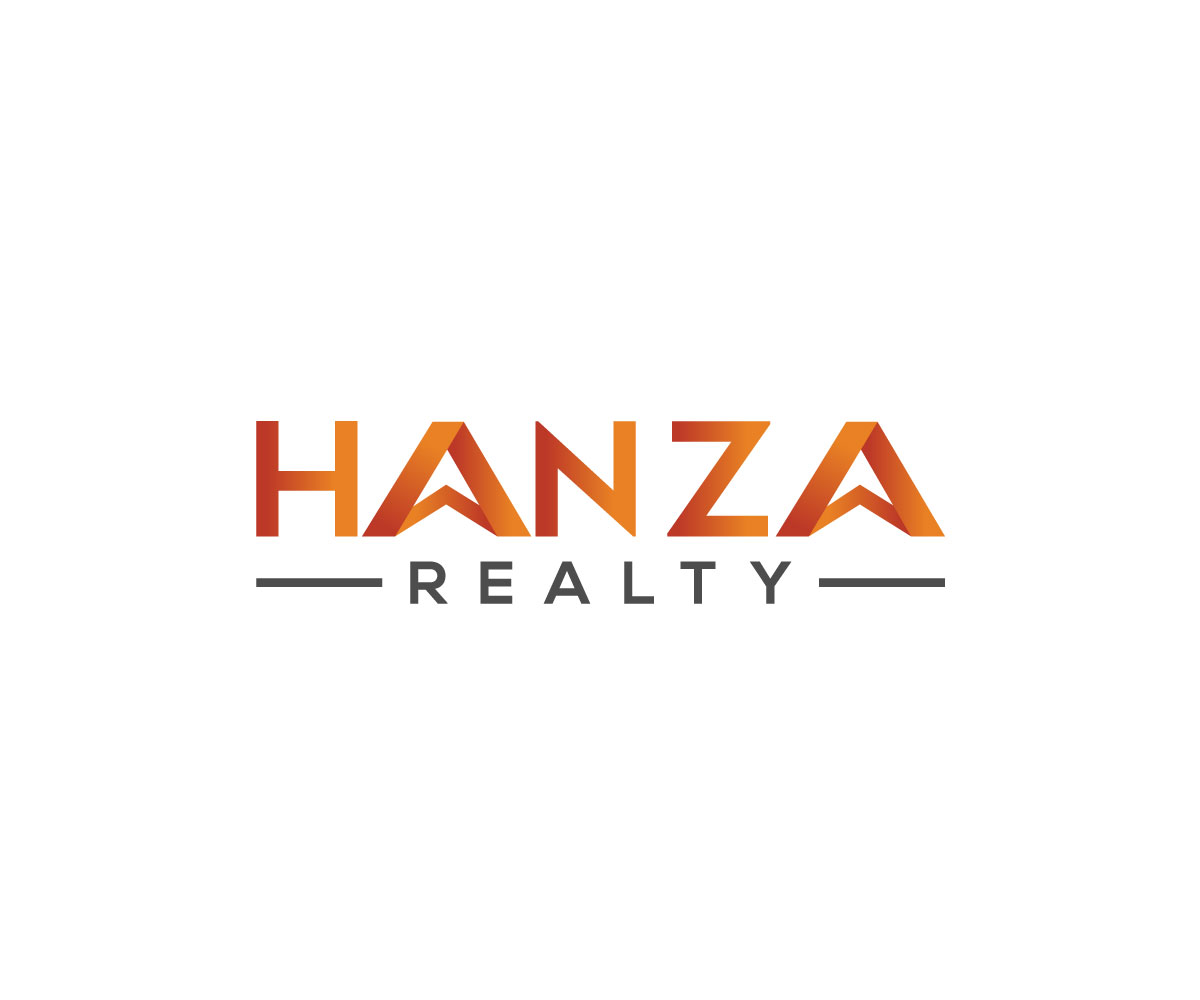 Logo Design by Md nayeem Khan - Entry No. 74 in the Logo Design Contest Logo Design for Hanza Realty.