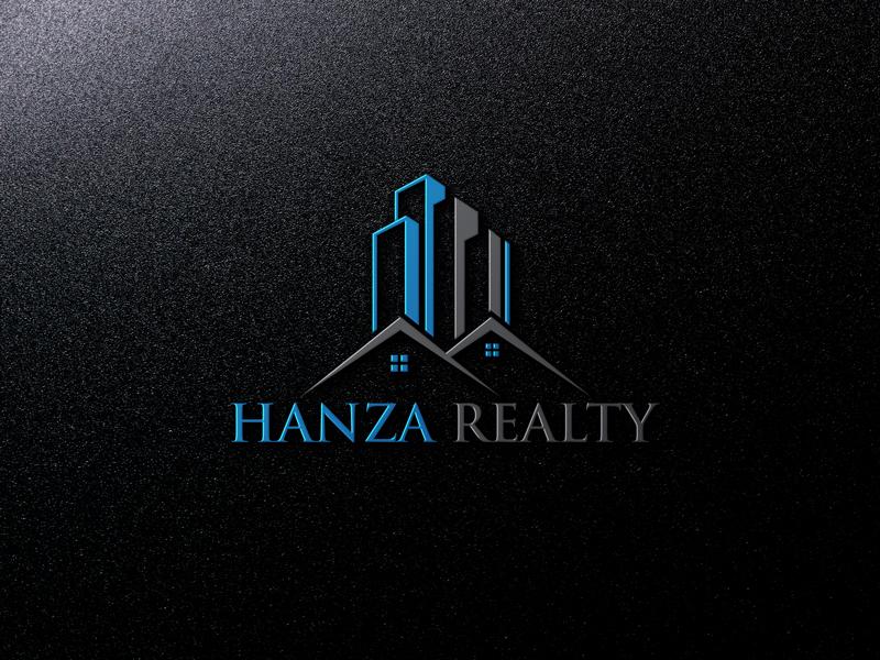 Logo Design by Mahedi Hasan - Entry No. 75 in the Logo Design Contest Logo Design for Hanza Realty.