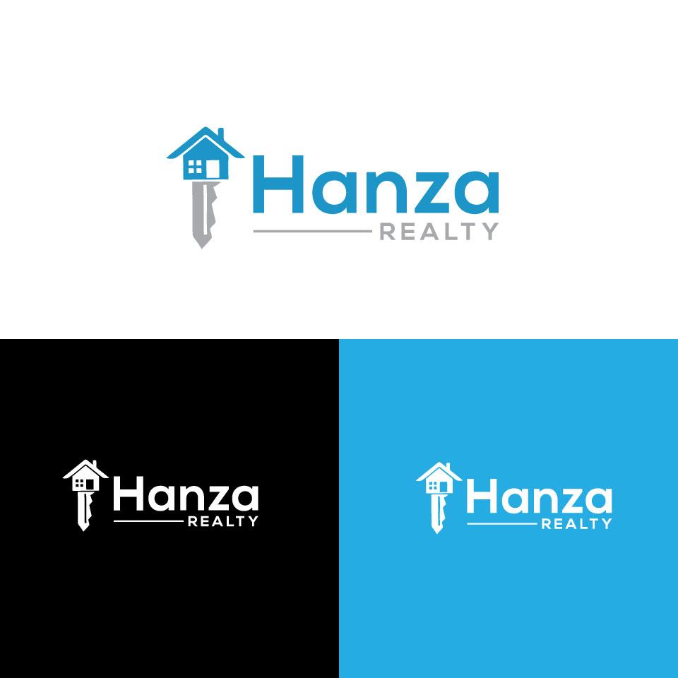 Logo Design by Private User - Entry No. 84 in the Logo Design Contest Logo Design for Hanza Realty.