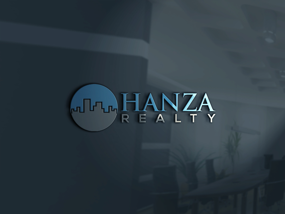 Logo Design by Saiful Islam - Entry No. 89 in the Logo Design Contest Logo Design for Hanza Realty.