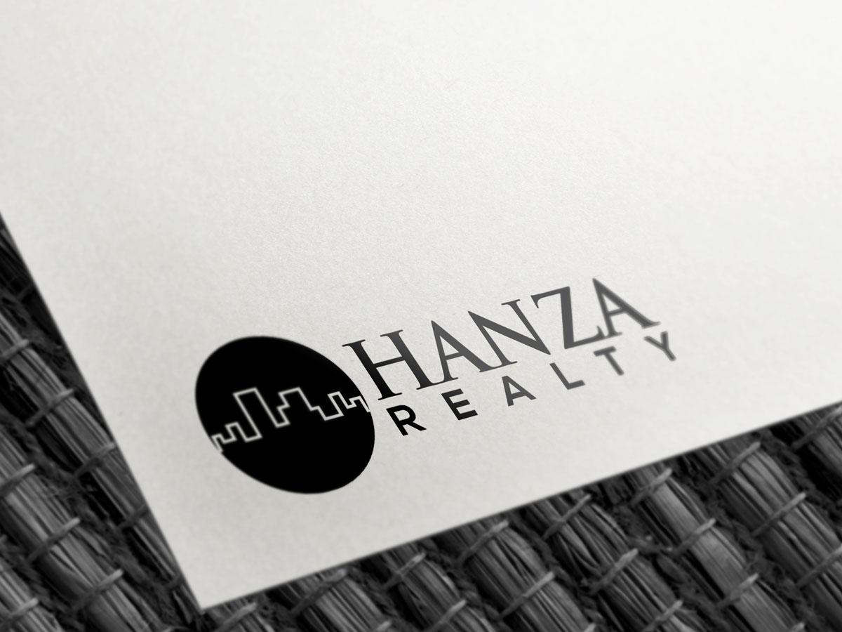 Logo Design by Saiful Islam - Entry No. 92 in the Logo Design Contest Logo Design for Hanza Realty.