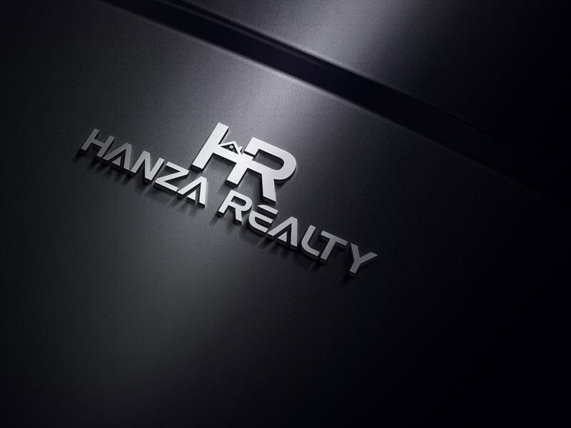 Logo Design by MAlamgir Hossain - Entry No. 98 in the Logo Design Contest Logo Design for Hanza Realty.
