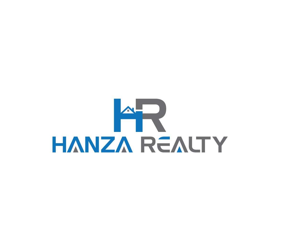 Logo Design by MAlamgir Hossain - Entry No. 99 in the Logo Design Contest Logo Design for Hanza Realty.