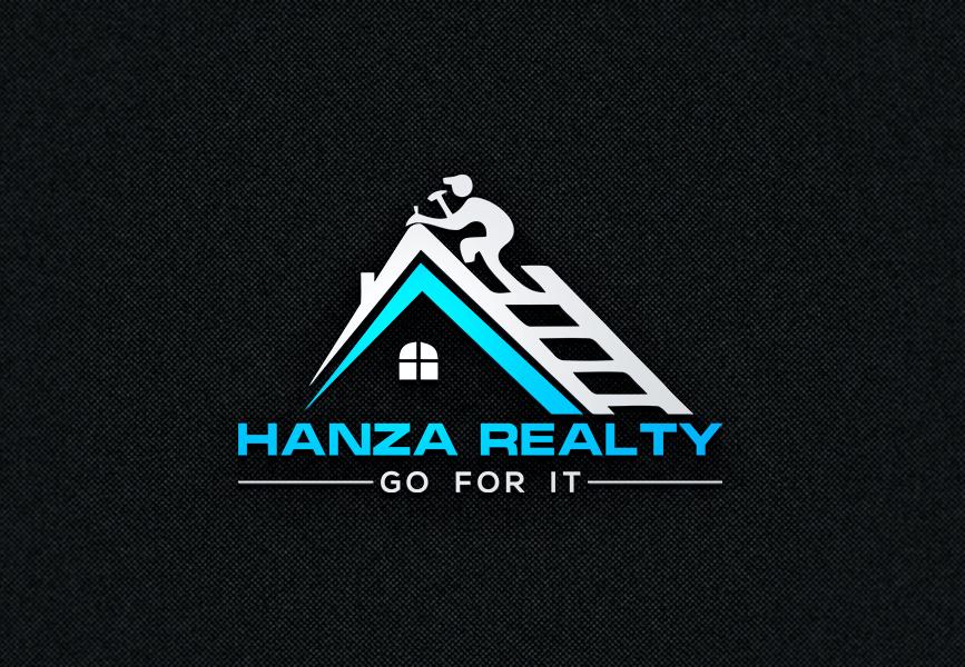 Logo Design by Tuhin Mazumder - Entry No. 103 in the Logo Design Contest Logo Design for Hanza Realty.