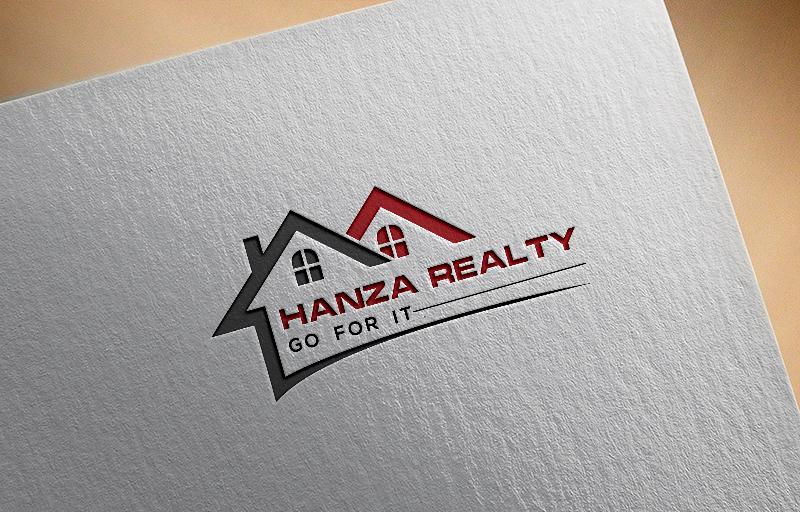 Logo Design by Tuhin Mazumder - Entry No. 106 in the Logo Design Contest Logo Design for Hanza Realty.