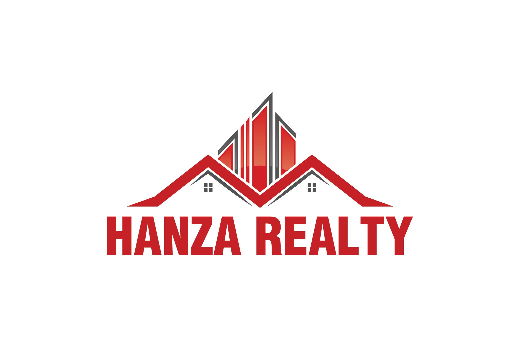 Logo Design by Raheel Baloch - Entry No. 111 in the Logo Design Contest Logo Design for Hanza Realty.