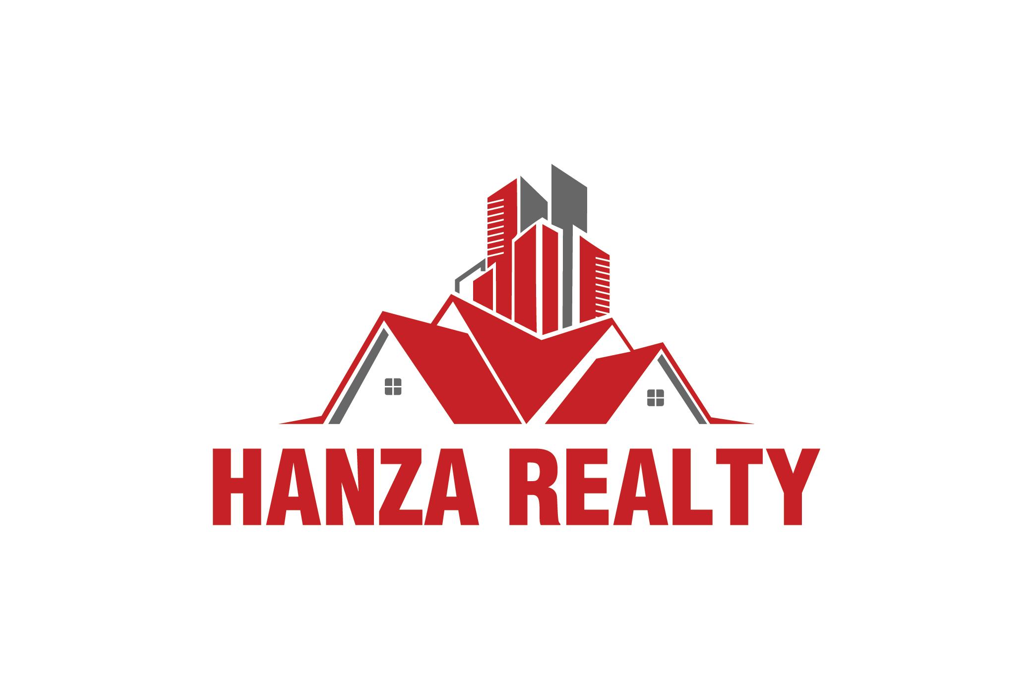 Logo Design by Raheel Baloch - Entry No. 112 in the Logo Design Contest Logo Design for Hanza Realty.