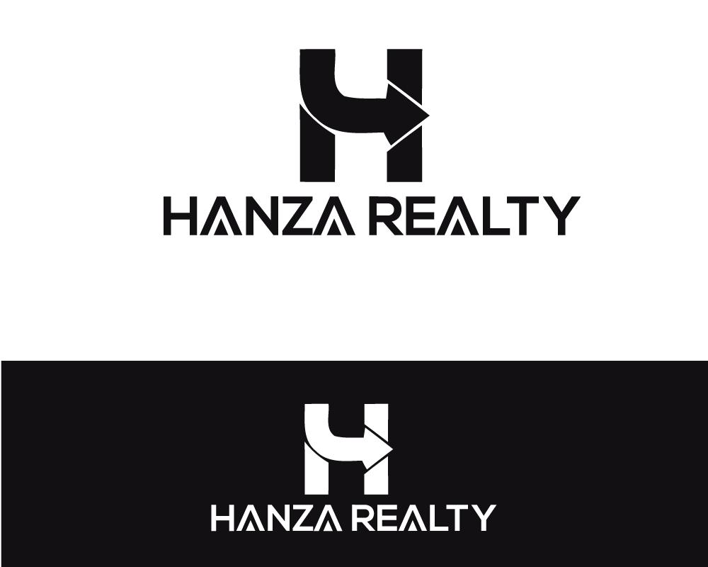 Logo Design by Md Nizam Uddin - Entry No. 113 in the Logo Design Contest Logo Design for Hanza Realty.