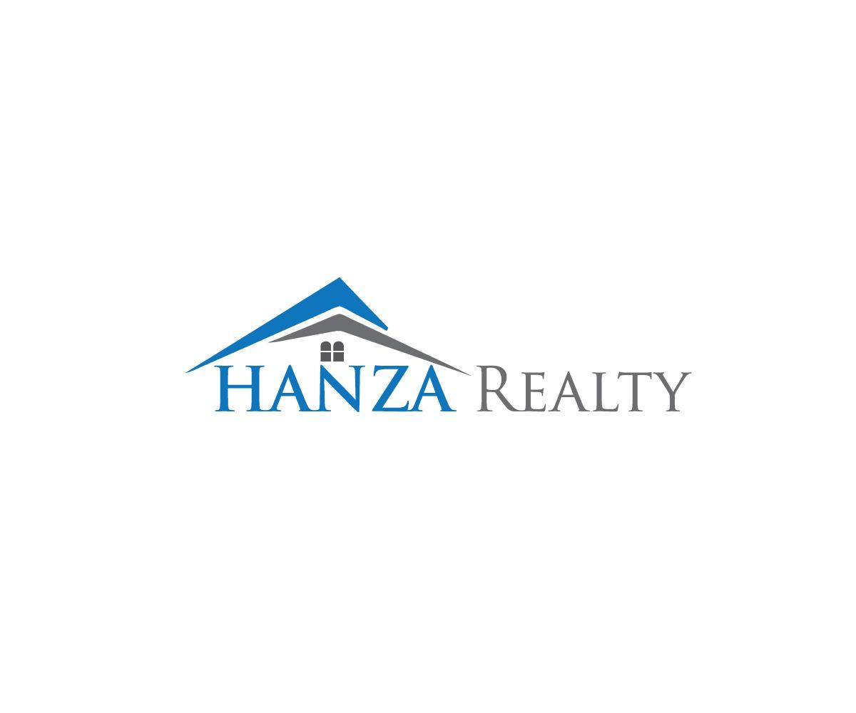 Logo Design by Shathi Islam - Entry No. 116 in the Logo Design Contest Logo Design for Hanza Realty.