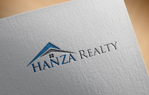 Logo Design by Shathi Islam - Entry No. 117 in the Logo Design Contest Logo Design for Hanza Realty.