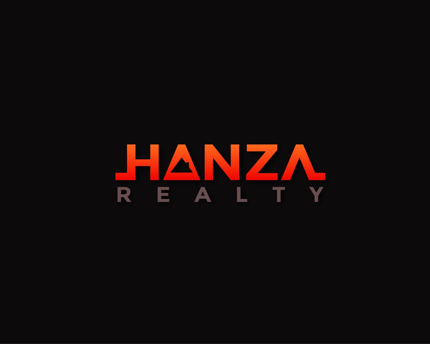 Logo Design by Allan Esclamado - Entry No. 119 in the Logo Design Contest Logo Design for Hanza Realty.