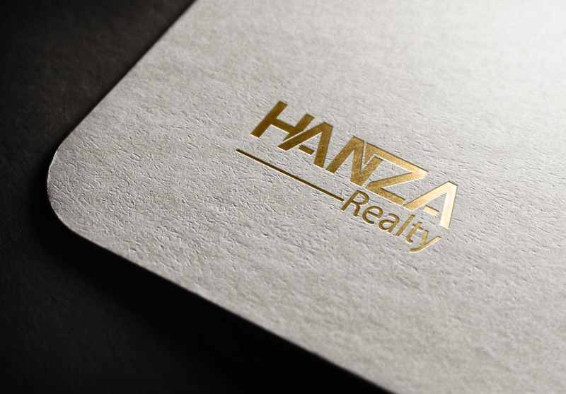 Logo Design by Akram Hossain - Entry No. 120 in the Logo Design Contest Logo Design for Hanza Realty.