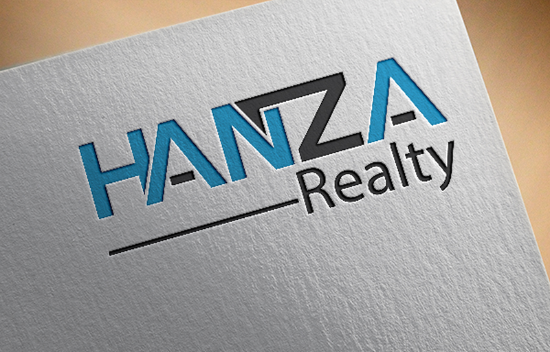 Logo Design by Akram Hossain - Entry No. 122 in the Logo Design Contest Logo Design for Hanza Realty.