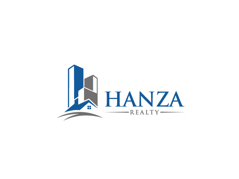 Logo Design by Easin Hossain - Entry No. 125 in the Logo Design Contest Logo Design for Hanza Realty.