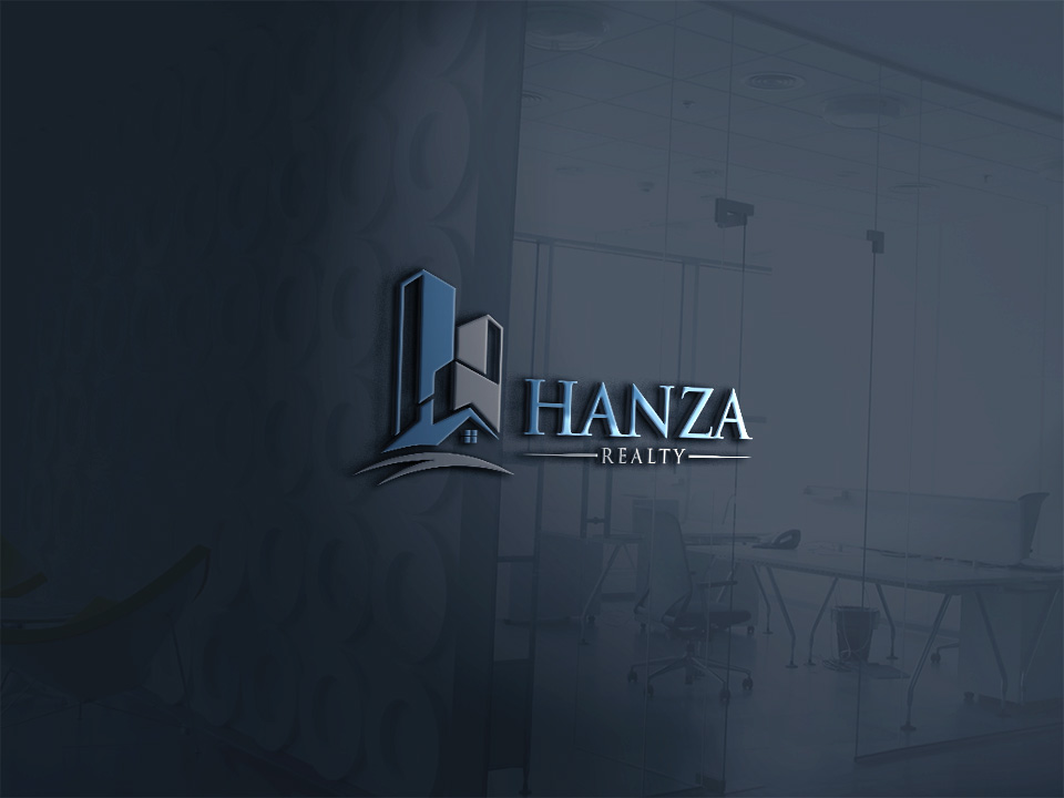 Logo Design by Easin Hossain - Entry No. 126 in the Logo Design Contest Logo Design for Hanza Realty.
