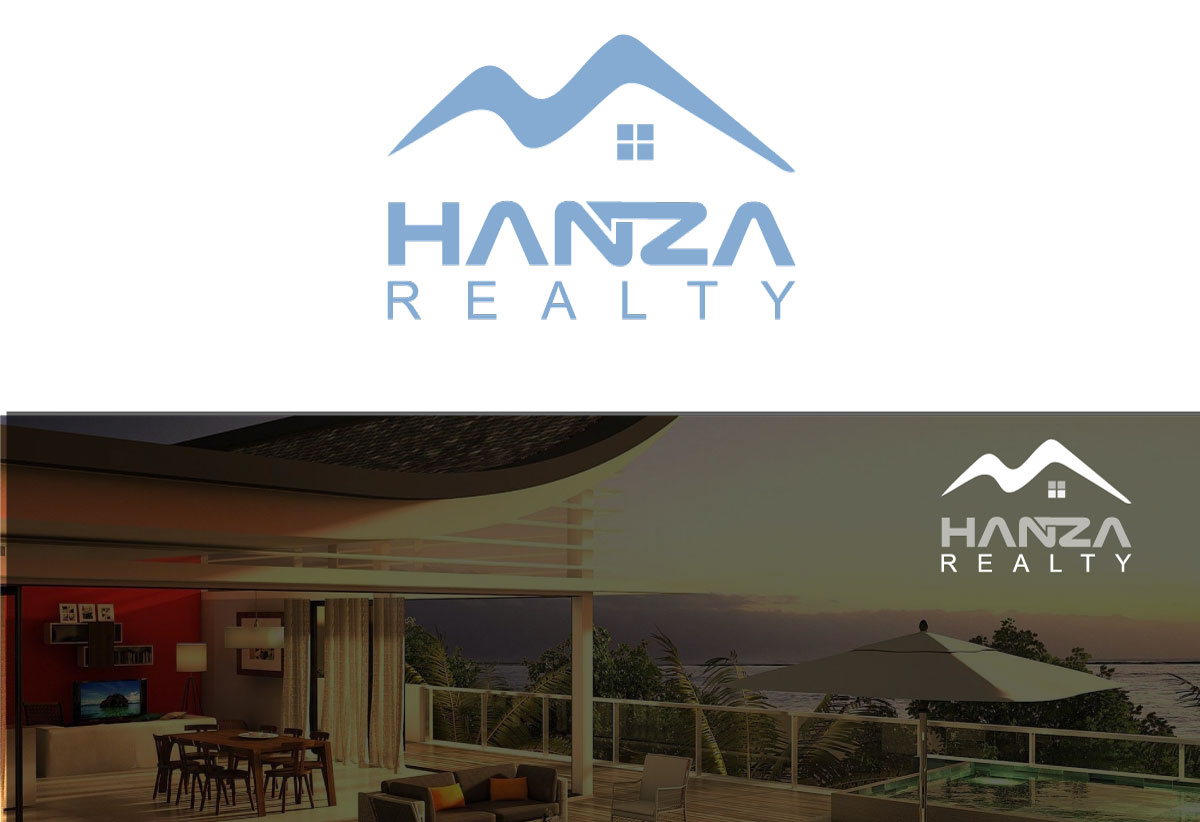 Logo Design by Kamrul Prodhan - Entry No. 129 in the Logo Design Contest Logo Design for Hanza Realty.