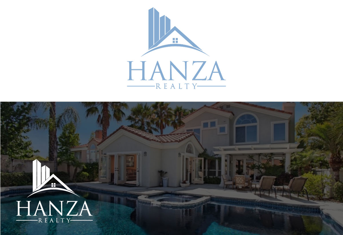 Logo Design by Kamrul Prodhan - Entry No. 130 in the Logo Design Contest Logo Design for Hanza Realty.