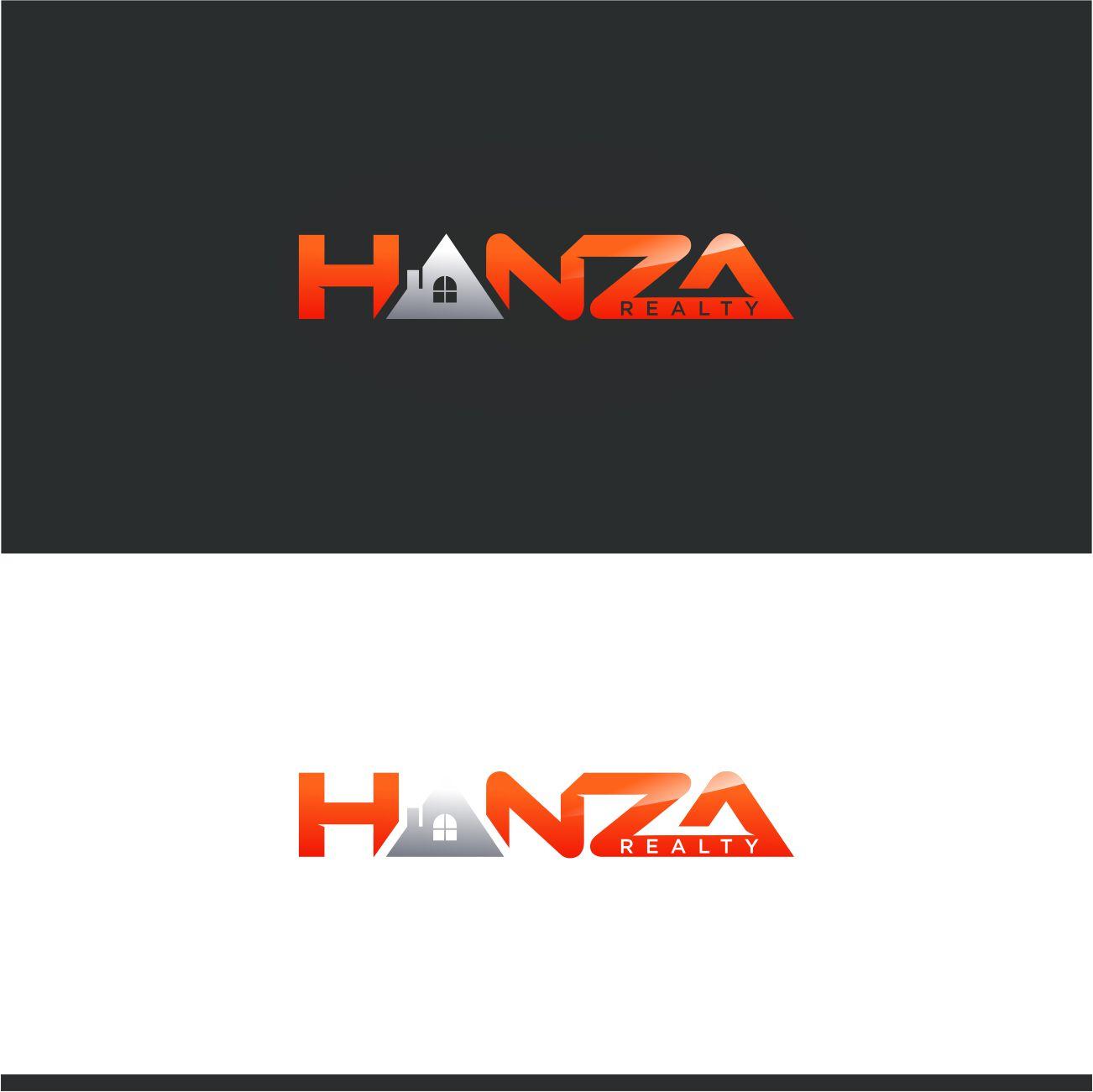 Logo Design by RasYa Muhammad Athaya - Entry No. 132 in the Logo Design Contest Logo Design for Hanza Realty.