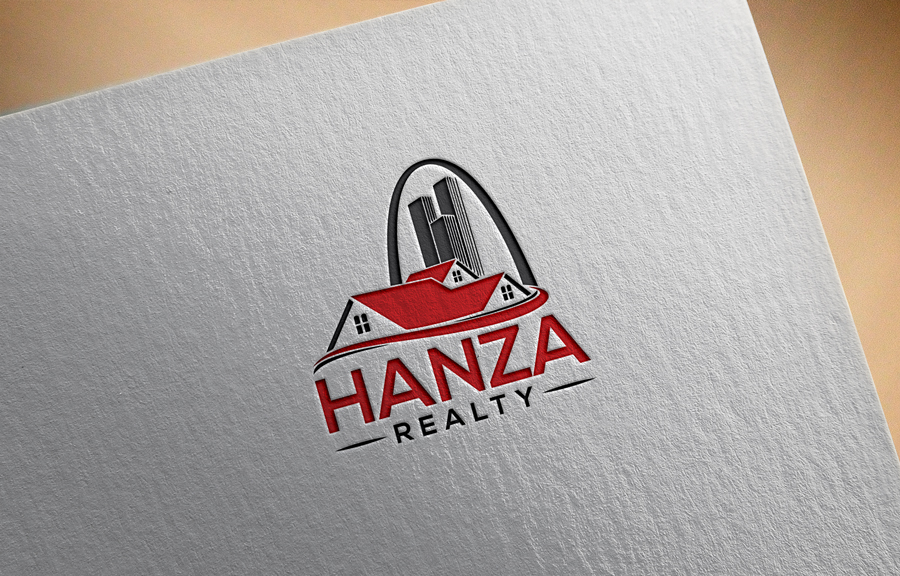 Logo Design by Abu Backar - Entry No. 136 in the Logo Design Contest Logo Design for Hanza Realty.