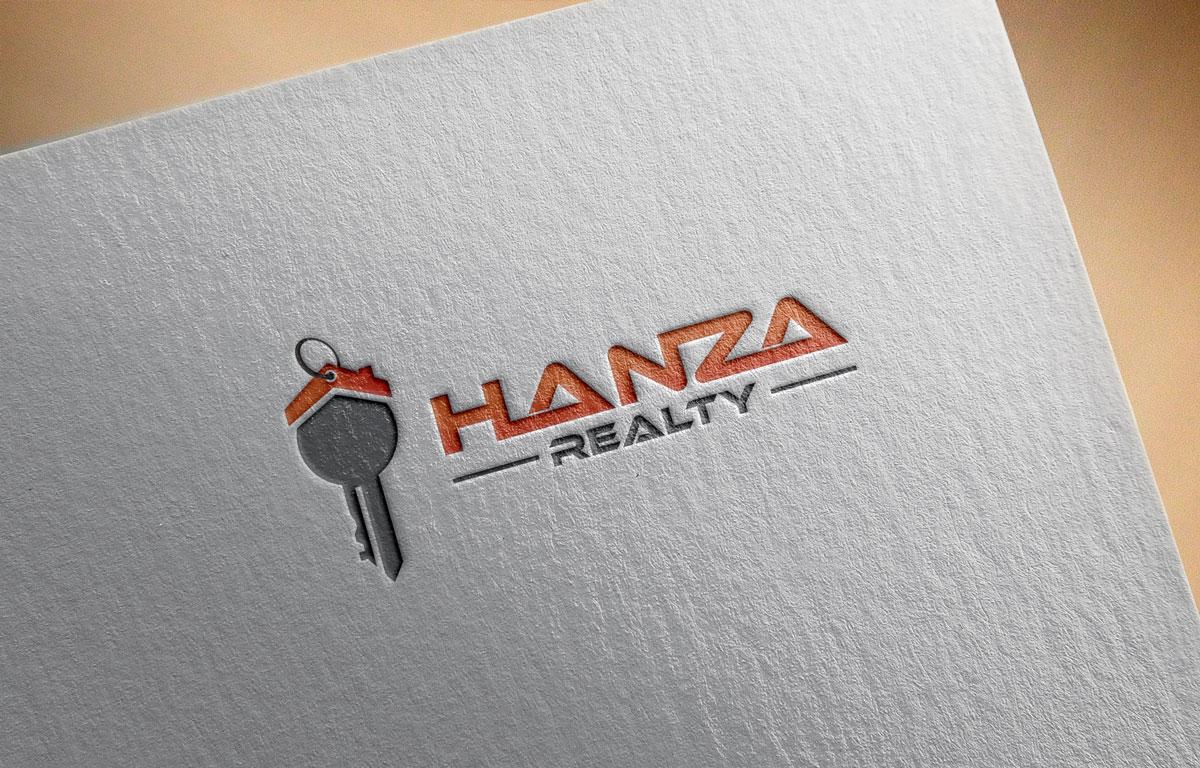 Logo Design by Easrat Jahan - Entry No. 144 in the Logo Design Contest Logo Design for Hanza Realty.