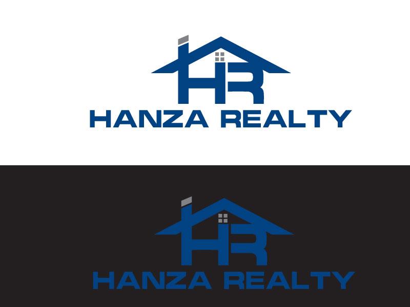 Logo Design by Md Harun Or Rashid - Entry No. 152 in the Logo Design Contest Logo Design for Hanza Realty.
