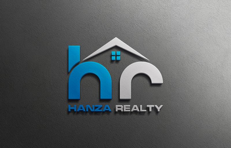 Logo Design by Md Harun Or Rashid - Entry No. 154 in the Logo Design Contest Logo Design for Hanza Realty.