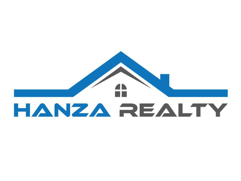 Logo Design by Rased Vai - Entry No. 157 in the Logo Design Contest Logo Design for Hanza Realty.