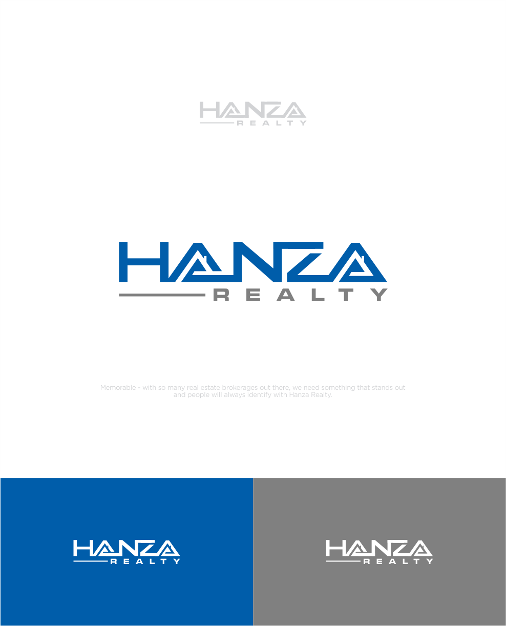 Logo Design by Raymond Garcia - Entry No. 163 in the Logo Design Contest Logo Design for Hanza Realty.
