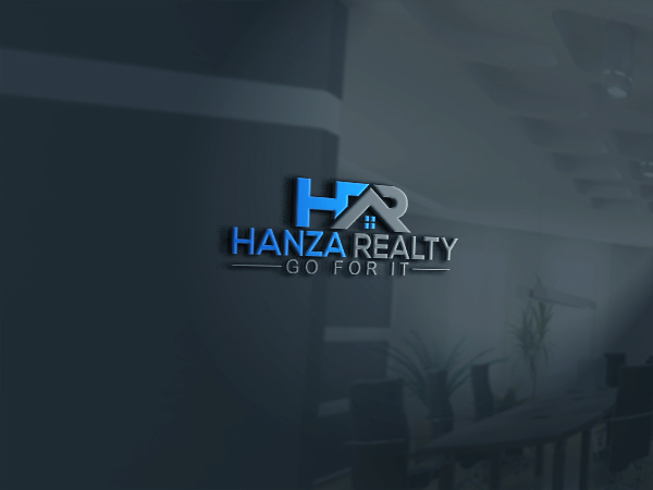 Logo Design by Bahar Hossain - Entry No. 170 in the Logo Design Contest Logo Design for Hanza Realty.